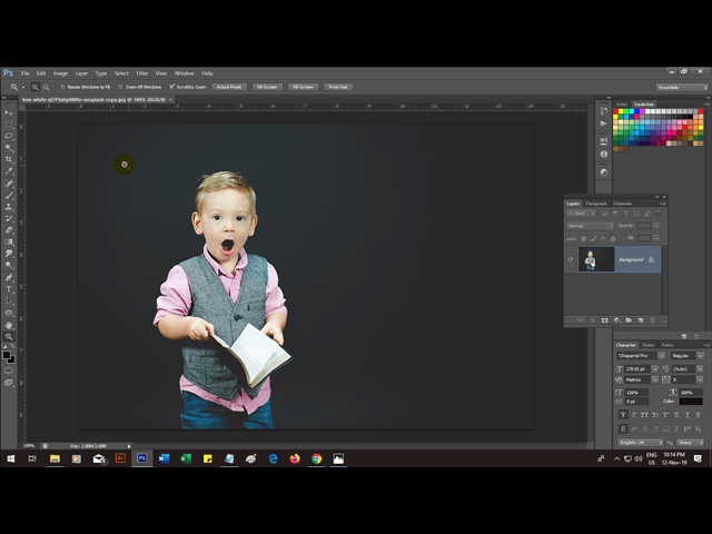 How to Remove & Change Background of a Photo with Photoshop by reducephotosize.com