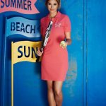Rochie StarShinerS Brodata Sport Up Player Coral
