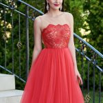 Rochie Ana Radu Tempting Invitation Red