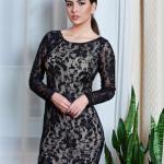 Rochie MissQ Fancy Lace Black