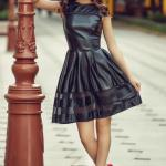 Rochie StarShinerS Theo Rose Mistery Black
