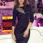 Rochie StarShinerS Theo Rose Powerful Black