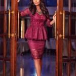 Rochie Daniella Cristea Surprising Event Purple