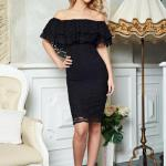 Rochie PrettyGirl Party Mood Black