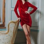 Rochie PrettyGirl Sensual Design Red