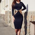 Rochie StarShinerS Kaleidoscop Sensation Black