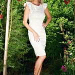 Rochie StarShinerS Elegant Delicacy Cream