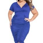Rochie Garnet albastru