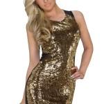 Rochie Luxury Gold