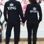 Set Bluze King and Queen imprimate spate 108 Lei