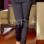 Pantaloni Marina Bleumarin Din Tercot