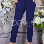 Pantaloni Night Bleumarin Cu Aplicatii
