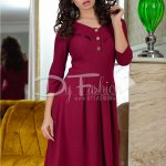 Rochie Come Up Burgundy