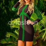 Rochie Green Matilda