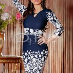 Rochie Having Dark Blue Rounds