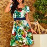 Rochie Joly de Zi in Clos Multicolora
