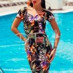 Rochie Loving de Zi cu Imprimeu Tropical