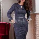 Rochie Office Lady Dark Blue