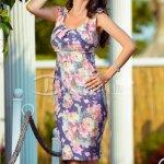Rochie Prefer cu Imprimeu Floral de Vara