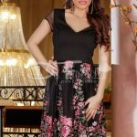 Rochie Principal Flowers Rose