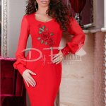 Rochie Red Rose Effect