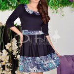 Rochie See Blue Flowers