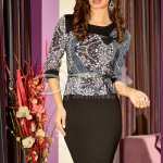 Rochie Timeless Brown Chain