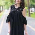 Rochie Anastasia Neagra 116 Lei