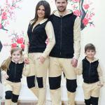 Set Treninguri Snow Beige Family 503 Lei