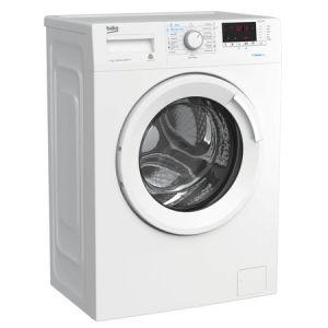 Masina de spalat rufe Slim Beko WRE7512XWW, 7 kg, 1000 RPM, Clasa A+++, Steam Cure, Display digital, Alb pret ieftin