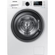 Masina de spalat Samsung WW90J5446EW/LE, 9 kg, 1400 RPM, Clasa A+++, Motor Digital Inverter, Eco Bubble, Diamond Drum, Alb ieftina