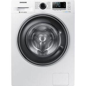 Masina de spalat Samsung WW90J5446EW/LE, 9 kg, 1400 RPM, Clasa A+++, Motor Digital Inverter, Eco Bubble, Diamond Drum, Alb pret ieftin