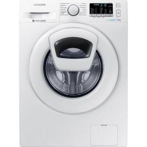 Masina de spalat rufe Samsung Eco Bubble AddWash WW70K5210WW/LE, 1200 RPM, 7 kg, Clasa A+++, Alb pret ieftin