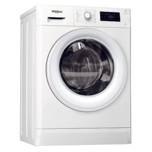 Masina de spalat rufe Whirlpool FreshCare FWSG61053W EU, 6 kg, 1000 RPM, 6th Sense, Clasa A+++, Alb pret ieftin