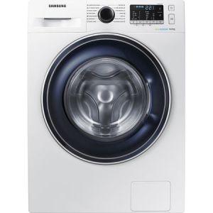 Masina de spalat rufe Samsung WW80J5545FW/LE, EcoBubble, 8 kg, 1400 RPM, Clasa A+++, 60 cm, Alb pret ieftin
