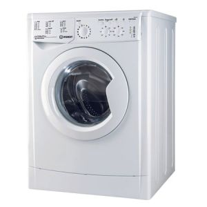 Masina de spalat rufe slim Indesit IWSC 61051 CECO EU, 6 kg, 1000 rpm, Clasa A+, Alb pret ieftin