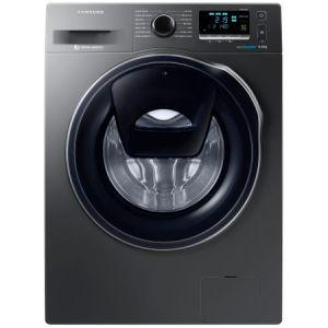 Masina de spalat rufe Samsung Eco Bubble AddWash WW90K6414QX/LE, 1400 RPM, 9 kg, Inverter, Clasa A+++, Inox pret ieftin