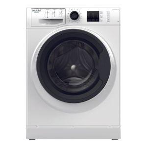Masina de spalat rufe Hotpoint NM10 723 WK EU, 7 kg, 1200 RPM, Clasa A+++, FinalCare, Stop&Add, Alb pret ieftin