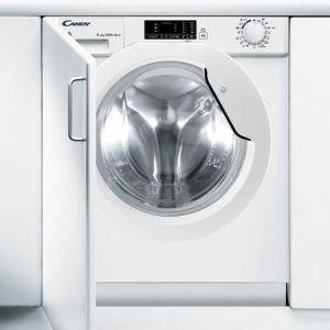 Masina de spalat rufe incorporabila Candy CBWD 8514D-S, 1400 RPM, 8 Kg spalare / 5 Kg uscare, Clasa A, Alb pret ieftin