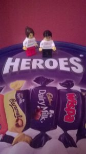 It's the characters inside your head who keep you going