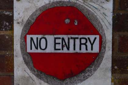 No entry, the end of chemical romance
