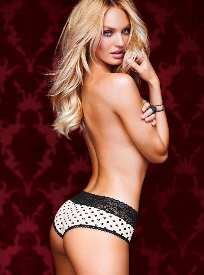 CANDICE SWANEPOEL VICTORIAS SECRET