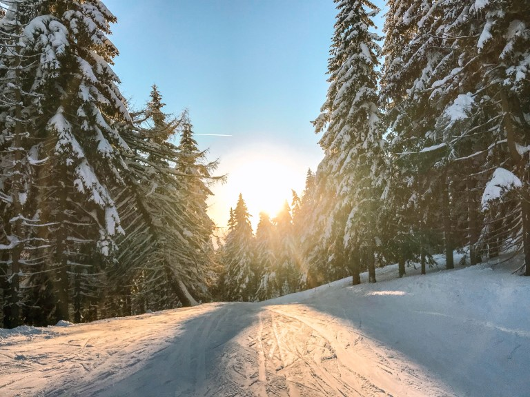 Skiing in Czech Republic is the perfect weekend trip.