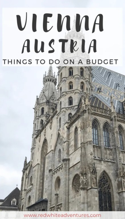 A pin for Pinterest on things to do in Vienna in 48 hours.