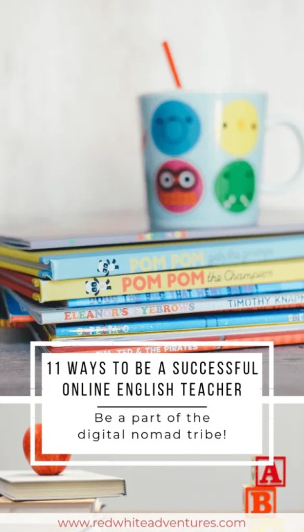 11 ways to be a successful online English teacher.