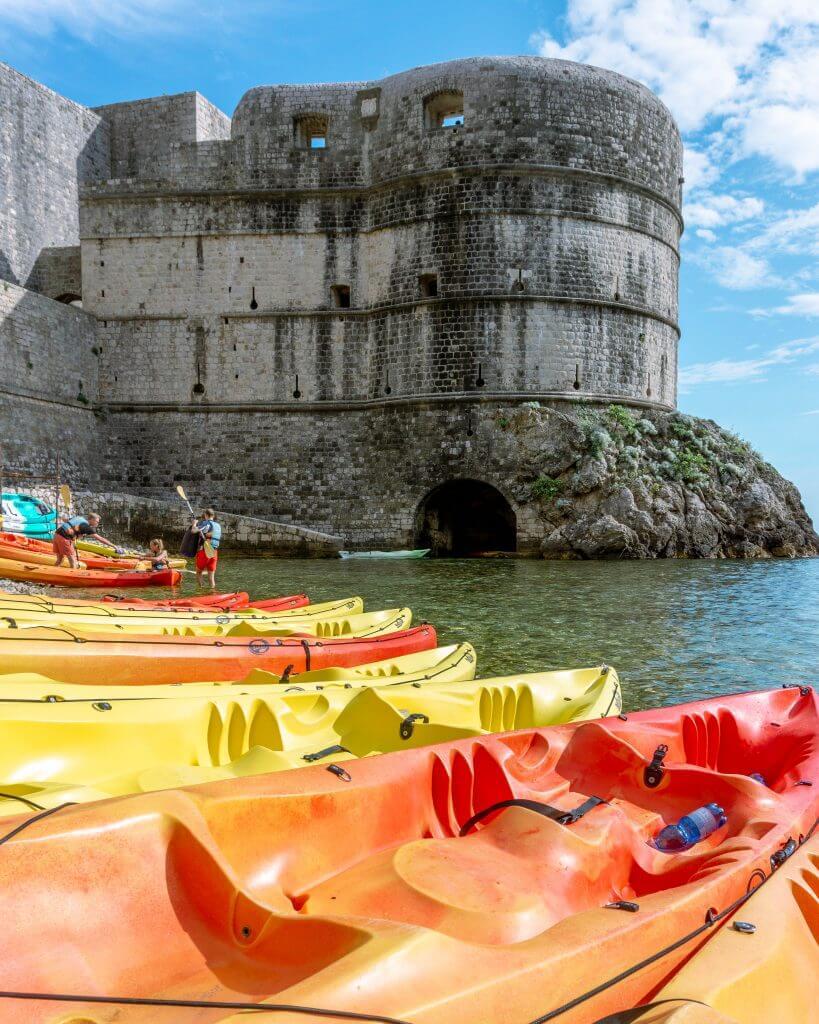 Wonderful castle in Dubrovnik.