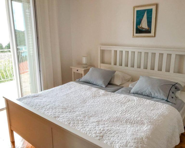 Airbnb room in Dubrovnik, Croatia.