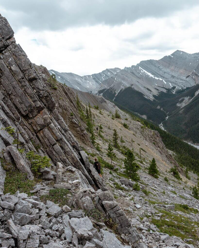 Mountains in Kananaskis.