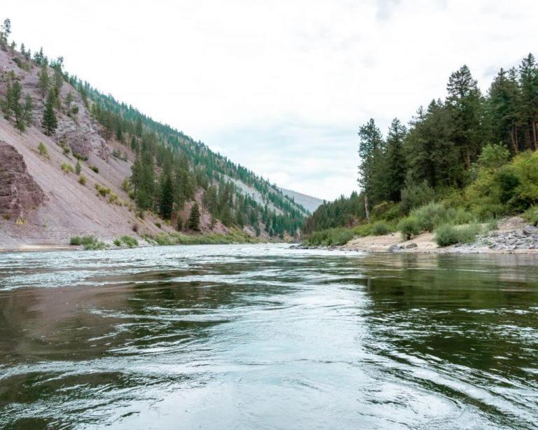Clark Fork River near Missoula.