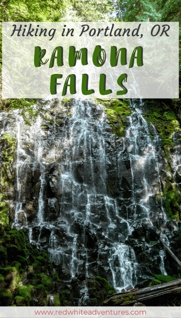 Ramona Falls Pin for Pinterest